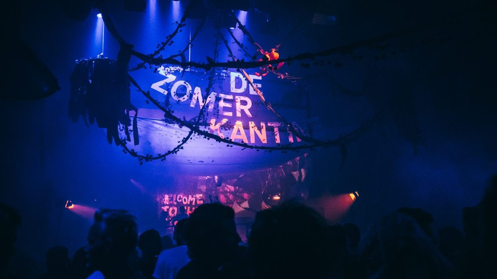 Our decor design and scenography of the Zomerkantine in the marktkantine, amsterdam summer of 2018.